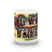 Greetings from Big Trees California Unique Coffee Mug, Coffee Cup