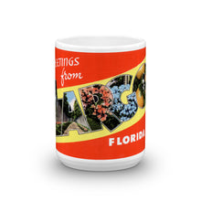 Greetings from Largo Florida Unique Coffee Mug, Coffee Cup