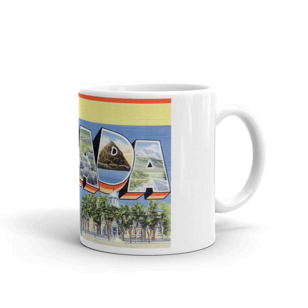 Greetings from Nevada Unique Coffee Mug, Coffee Cup 1