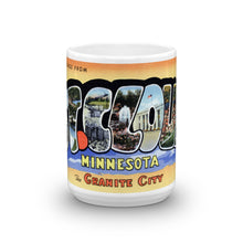 Greetings from St Cloud Minnesota Unique Coffee Mug, Coffee Cup