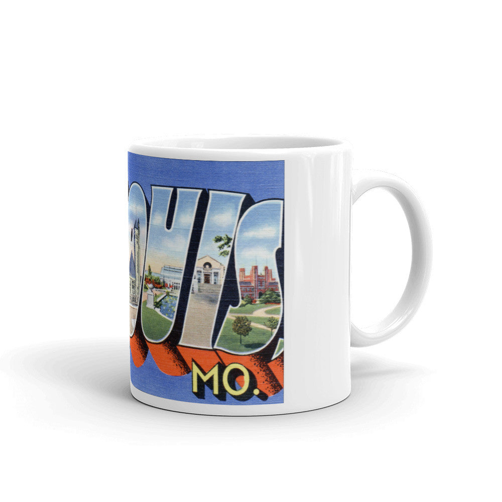 Greetings from St Louis Missouri Unique Coffee Mug, Coffee Cup 2