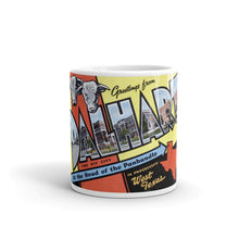 Greetings from Dalhart Texas Unique Coffee Mug, Coffee Cup