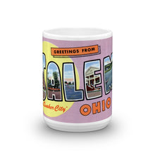 Greetings from Salem Ohio Unique Coffee Mug, Coffee Cup
