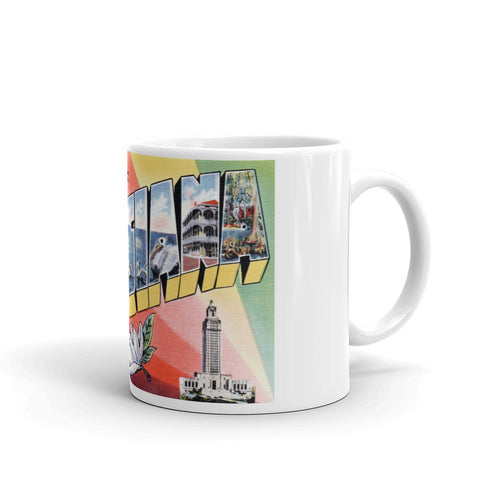 Greetings from Louisiana Unique Coffee Mug, Coffee Cup 3