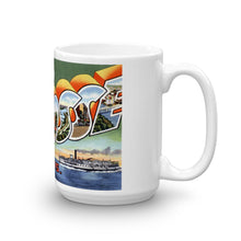 Greetings from La Crosse Wisconsin Unique Coffee Mug, Coffee Cup