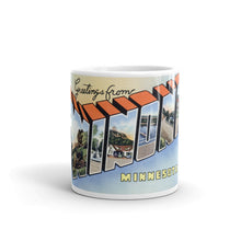Greetings from Winona Minnesota Unique Coffee Mug, Coffee Cup