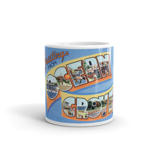 Greetings from Ocean Grove New Jersey Unique Coffee Mug, Coffee Cup 2