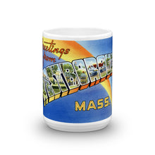 Greetings from Westborough Massachusetts Unique Coffee Mug, Coffee Cup