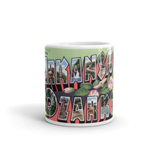 Greetings from Arkansas Ozarks Arkansas Unique Coffee Mug, Coffee Cup 1