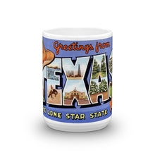 Greetings from Texas Unique Coffee Mug, Coffee Cup 3