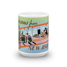 Greetings from The Oranges New Jersey Unique Coffee Mug, Coffee Cup