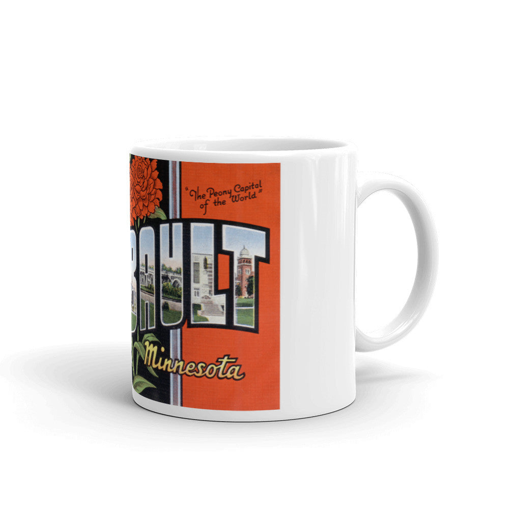 Greetings from Faribault Minnesota Unique Coffee Mug, Coffee Cup