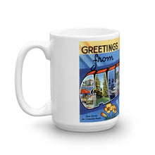 Greetings from California Unique Coffee Mug, Coffee Cup 1