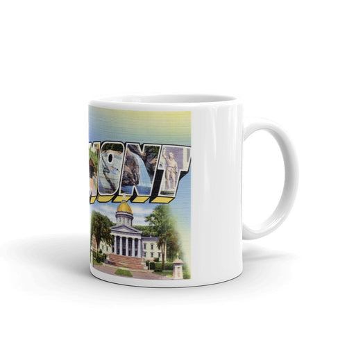 Greetings from Vermont Unique Coffee Mug, Coffee Cup 1