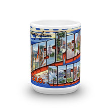 Greetings from Pikes Peak Colorado Unique Coffee Mug, Coffee Cup