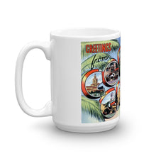 Greetings from Coral Gables Florida Unique Coffee Mug, Coffee Cup 2