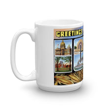 Greetings from Iowa Unique Coffee Mug, Coffee Cup 2