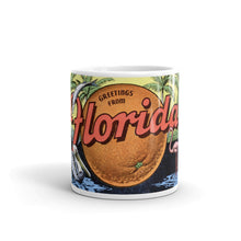 Greetings from Florida Unique Coffee Mug, Coffee Cup 2