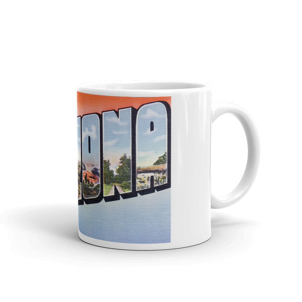 Greetings from Arizona Unique Coffee Mug, Coffee Cup 4