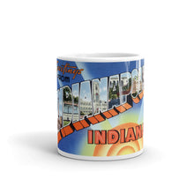 Greetings from Indianapolis Indiana Unique Coffee Mug, Coffee Cup 2
