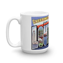Greetings from Louisiana Unique Coffee Mug, Coffee Cup 2