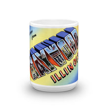 Greetings from Maywood Illinois Unique Coffee Mug, Coffee Cup