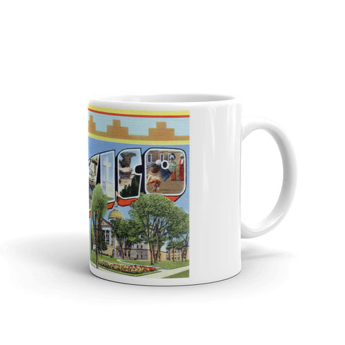 Greetings from New Mexico Unique Coffee Mug, Coffee Cup 1