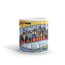 Greetings from Provincetown Massachusetts Unique Coffee Mug, Coffee Cup