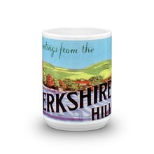 Greetings from Berkshire Hills Massachusetts Unique Coffee Mug, Coffee Cup