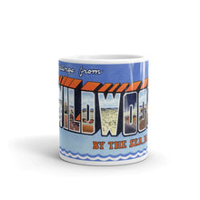 Greetings from Wildwood By The Sea New Jersey Unique Coffee Mug, Coffee Cup 1