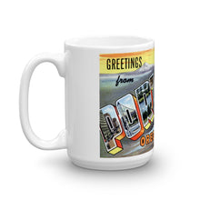 Greetings from Portland Oregon Unique Coffee Mug, Coffee Cup 1