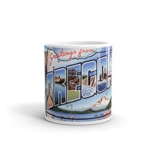 Greetings from Oregon Unique Coffee Mug, Coffee Cup 2