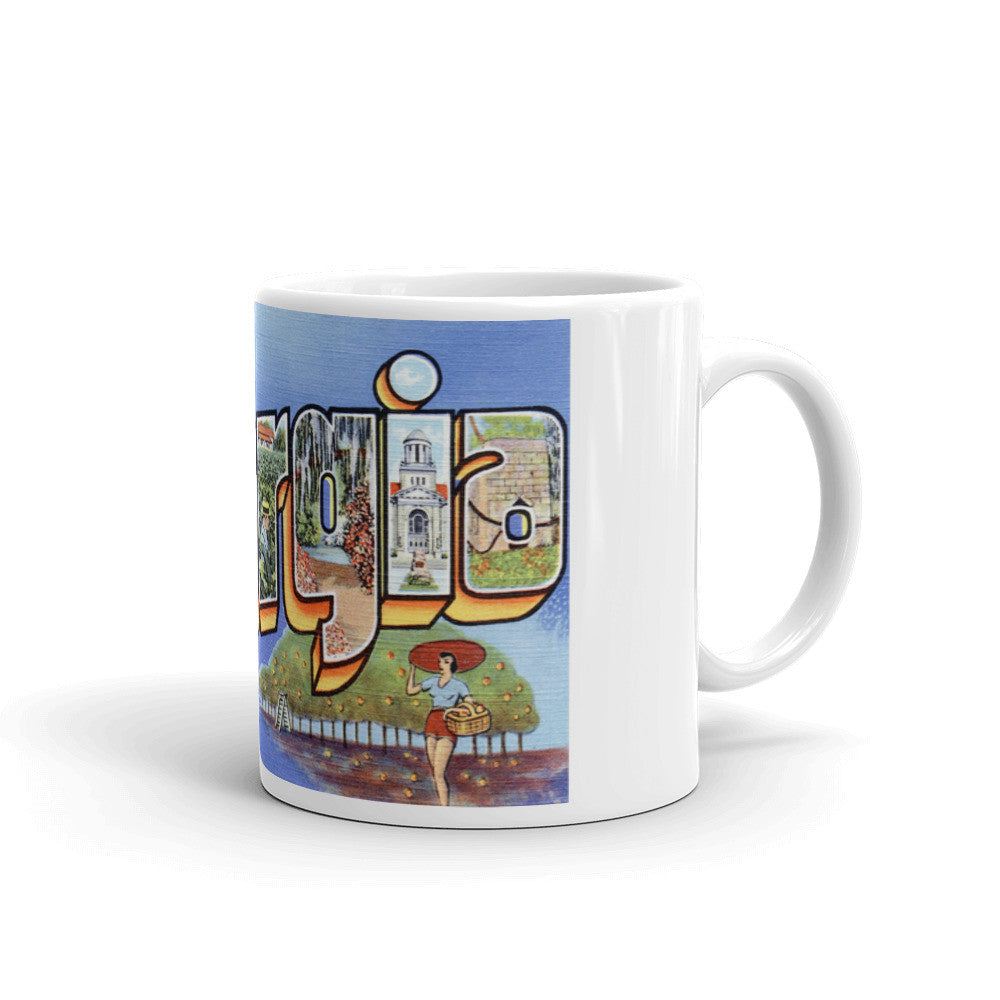 Greetings from Georgia Unique Coffee Mug, Coffee Cup 2