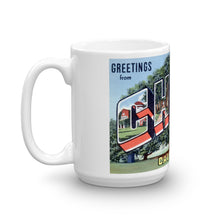 Greetings from Chico California Unique Coffee Mug, Coffee Cup