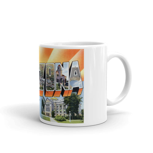 Greetings from Arizona Unique Coffee Mug, Coffee Cup 1