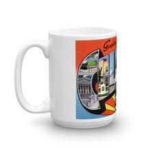 Greetings from Columbia South Carolina Unique Coffee Mug, Coffee Cup 1