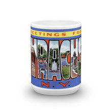 Greetings from Syracuse New York Unique Coffee Mug, Coffee Cup 2