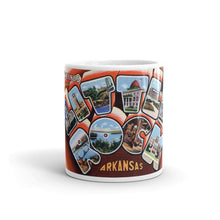 Greetings from Little Rock Arkansas Unique Coffee Mug, Coffee Cup 2