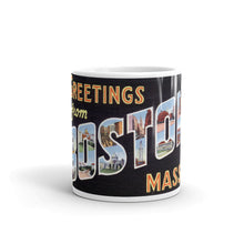 Greetings from Boston Massachusetts Unique Coffee Mug, Coffee Cup 3