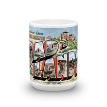 Greetings from Bad Lands North Dakota Unique Coffee Mug, Coffee Cup 2