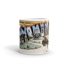 Greetings from Wyoming Unique Coffee Mug, Coffee Cup 2