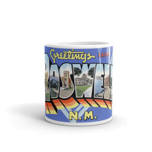 Greetings from Roswell New Mexico Unique Coffee Mug, Coffee Cup