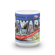 Greetings from Newark New Jersey Unique Coffee Mug, Coffee Cup 2