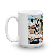 Greetings from Vallejo California Unique Coffee Mug, Coffee Cup
