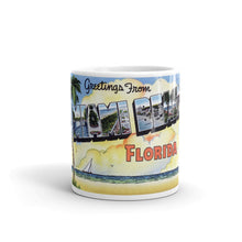 Greetings from Miami Beach Florida Unique Coffee Mug, Coffee Cup 3