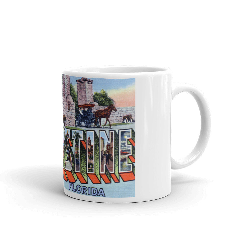 Greetings from St Augustine Florida Unique Coffee Mug, Coffee Cup 2