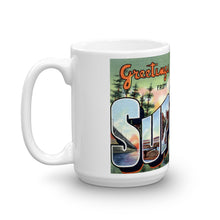 Greetings from Superior Wisconsin Unique Coffee Mug, Coffee Cup