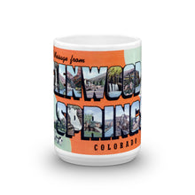 Greetings from Glenwood Springs Colorado Unique Coffee Mug, Coffee Cup