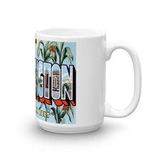 Greetings from Bloomington Illinois Unique Coffee Mug, Coffee Cup