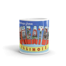 Greetings from Wheaton Illinois Unique Coffee Mug, Coffee Cup